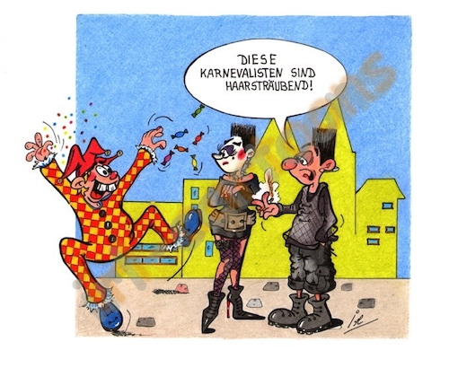 Cartoon: HELAU (medium) by irlcartoons tagged fasching,karneval,gothic,clown,fastnacht,fastenzeit,mainz,köln,düsseldorf,schwarzwald,rosenmontag,aschermittwoch,brauch,bräuche