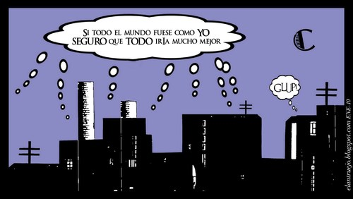 Cartoon: Glup! (medium) by ANTRUEJO tagged ciudad,gente