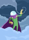 Cartoon: Mysterio (small) by MonitoMan tagged mysterio