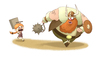Cartoon: Viking (small) by MonitoMan tagged viking,monito,monitoman