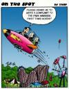 Cartoon: On the spot 02 (small) by thopman tagged cartoon,one,strip,panel,theme,park,