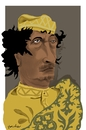 Cartoon: Muammar al-Gaddafi (small) by Bravemaina tagged gaddafi