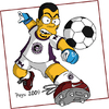 Cartoon: PEYSI SIMPSON (small) by ELPEYSI tagged lossimpsons,futbol,juego,thesimpsons,soccer,cartoon
