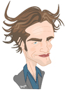 Cartoon: Robert Patitosoy (small) by ELPEYSI tagged robert,pattinson,vampiro,chupasangre,eclipse