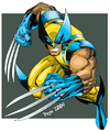 Cartoon: wolverine (small) by ELPEYSI tagged wollverine,guepardo,lobezno,bestia,logan,xmen