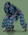 Cartoon: Kappa (small) by Ibon Sanchez tagged drone,scifi,robot,kappa