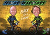Cartoon: Senior Warriors Doublefeature (small) by elle62 tagged bmx,sports,racing