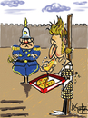 Cartoon: pizzapitch (small) by David Goytia tagged pizza,deseo,ultimo