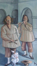 Cartoon: TITIRITEROS (small) by David Goytia tagged oleo,pintura,cuadro
