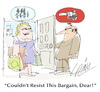 Cartoon: Good Sale (small) by LAINO tagged sale,shopping