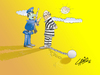 Cartoon: Jail (small) by LAINO tagged jail
