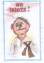 Cartoon: No idiots! (small) by Erki Evestus tagged no,idiots