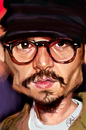 Cartoon: Johnny Depp (small) by salnavarro tagged caricature,digital,hollywood,icon,johnny,depp,fingerpainting,iphone