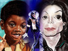 Cartoon: michael jackson (small) by salnavarro tagged caricature,digital,fingerpainting,ipad,ipod,sketchbook