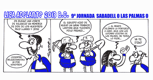 Cartoon: Division Maldita 09 (medium) by rebotemartinez tagged 2013,adelante,liga