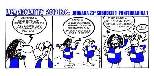 Cartoon: Division Maldita 23 (medium) by rebotemartinez tagged 2013,adelante,liga
