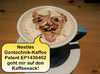 Cartoon: Gen-Kaffee-Selfie (small) by besscartoon tagged kaffee,gentechnik,genkaffee,patent,nestle,eu,tasse,patentamt,ep1436402,genmanipulation,brasilien,kaffeebohnen,greenpeace,bess,besscartoon