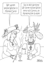 Cartoon: Luxus pur (small) by besscartoon tagged montecarlo,carrara,luxus,reich,arm,marmor,marmorkuchen,frauen,bess,besscartoon