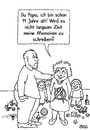 Cartoon: Memoiren (small) by besscartoon tagged vater,sohn,kinder,papa,memoiren,alter,schreiben,bess,besscartoon