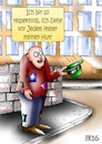 Cartoon: Respekt (small) by besscartoon tagged penner,bettler,armut,respekt,respektvoll,geld,finanzen,hut,ziehen,bess,besscartoon