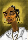 Cartoon: Snoop dogg (small) by Vlado Mach tagged famous,rap,black,interesant