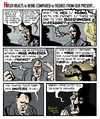 Cartoon: Overkill (small) by Dunlap-Shohl tagged hitler,hysteria,bunker,nazi,overkillrhetoric