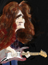 Cartoon: Rory Gallagher (small) by Dunlap-Shohl tagged rory,gallagher,guitar