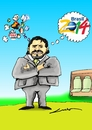 Cartoon: SPERANZA (small) by lucholuna tagged maradona,argentina