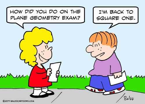 Cartoon: back square one geometry (medium) by rmay tagged back,square,one,geometry