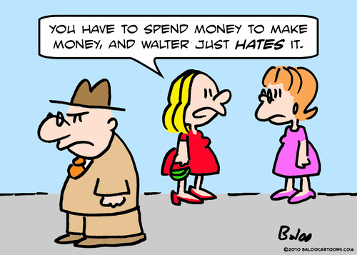 Cartoon: hates takes money make (medium) by rmay tagged hates,takes,money,make
