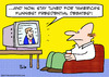 Cartoon: Americas funniest presidential d (small) by rmay tagged americas,funniest,presidential