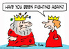 Cartoon: arrows fighting again king (small) by rmay tagged arrows,fighting,again,king