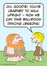 Cartoon: ballroom dancing caveman (small) by rmay tagged ballroom,dancing,caveman
