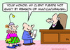 Cartoon: client not guilty multiculturali (small) by rmay tagged client,not,guilty,multiculturalism