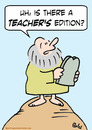 Cartoon: commandments moses teachers edit (small) by rmay tagged commandments moses teachers edition
