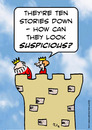 Cartoon: down king look suspicious (small) by rmay tagged down,king,look,suspicious