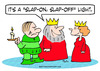 Cartoon: king slap on light off queen (small) by rmay tagged king,slap,on,light,off,queen