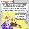 Cartoon: mexican drug cartels obama (small) by rmay tagged mexican,drug,cartels,obama