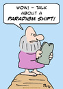 Cartoon: moses paradigm shift (small) by rmay tagged moses paradigm shift