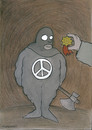 Cartoon: peace (small) by HAMED NABAHAT tagged peace