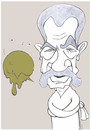 Cartoon: Terry Jones (small) by HAMED NABAHAT tagged terry jones